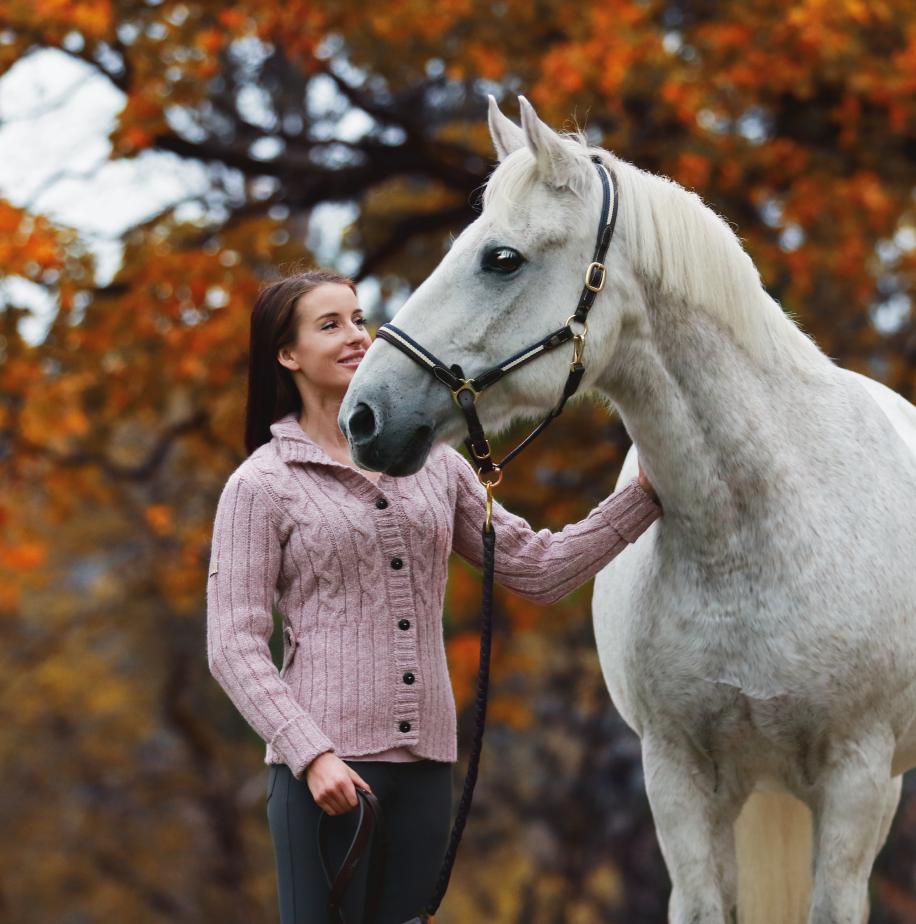 alpaca knit jacket